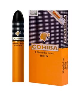 Xì gà Cohiba Piramides Extra hộp 3 điếu tubos