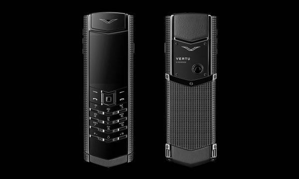 Điện thoại Vertu Signature S Clous De Paris Pure Black