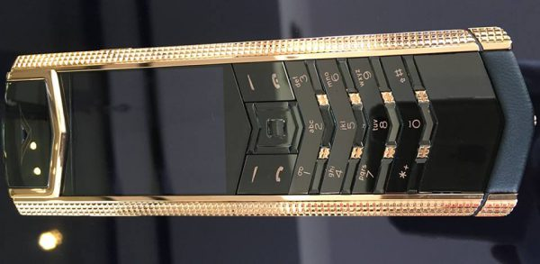 Điện thoại Vertu Signature S Clous de Paris Red Gold