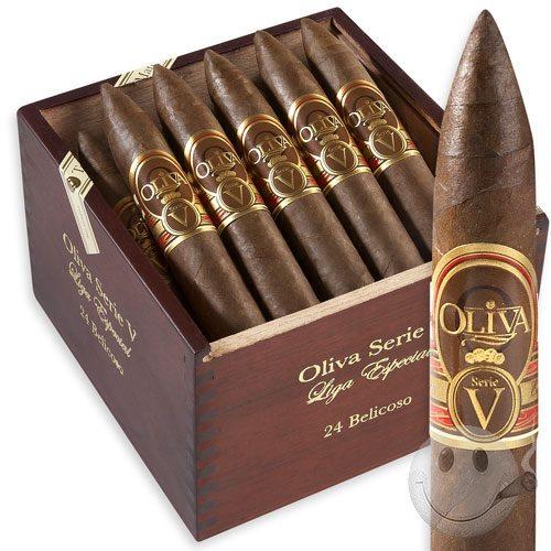 Xì gà Oliva Serie V Torpedo hộp gỗ 4 điếu