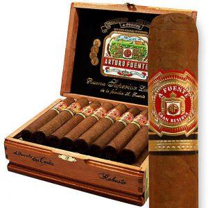 Dominican Arturo Fuente Don Carlos Robusto hộp gỗ 25 điếu