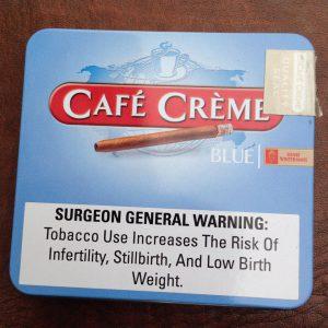 Cigar mini Café Crème Blue hộp 20 điếu