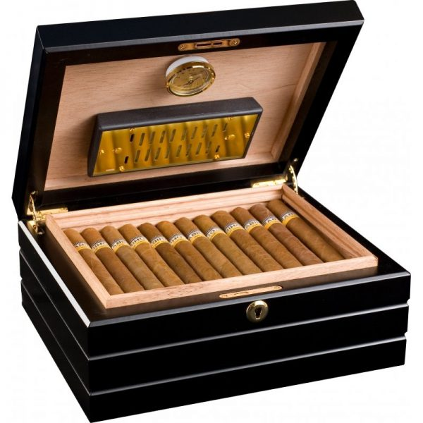 Hộp bảo quản xì gà Humidor Adorini Firenze Deluxe H101D
