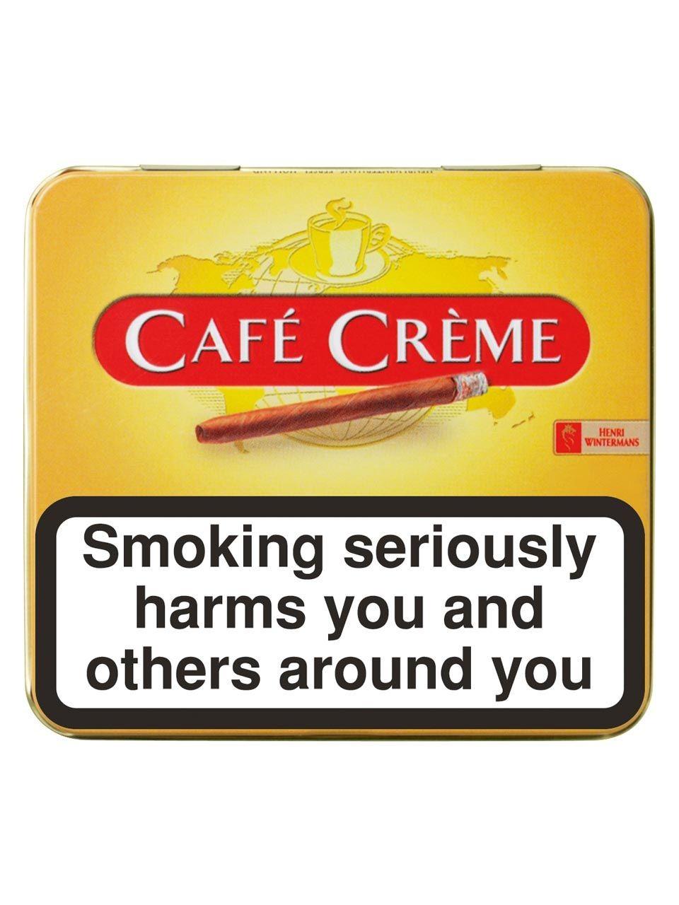 Xì gà mini Café Crème Orignal hộp 10 điếu