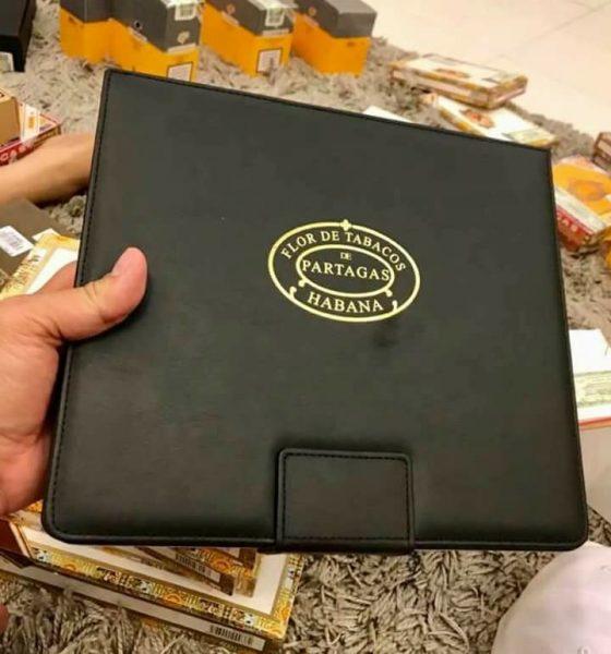Cigar Partagas serie E no2 travel humidore