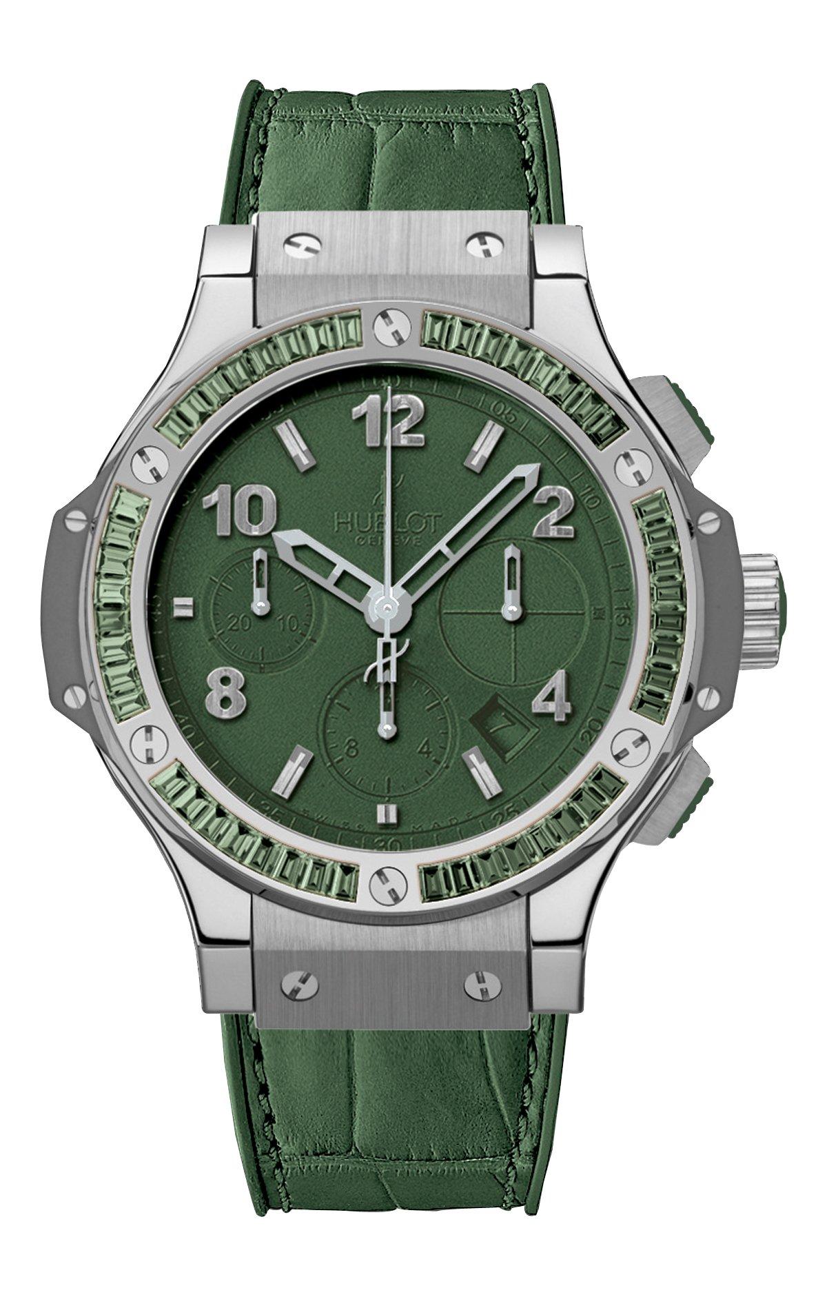 Big Bang Tutti Frutti Mat Green Dial Automatic Ladies Watch 41mm