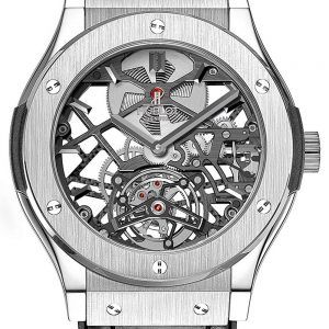 Classic Fusion Skeleton Tourbillon Men's Watch 505.TX.0170.LR, 45mm