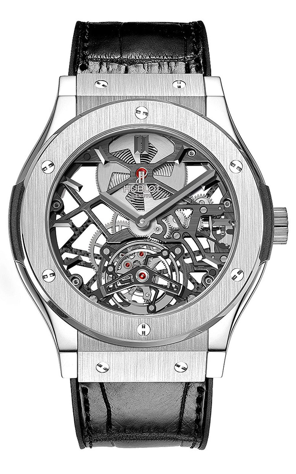 Classic Fusion Skeleton Tourbillon Men's Watch 505.TX.0170.LR, 45mm