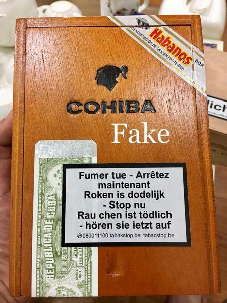 Cảnh báo xì gà giả ở Việt Nam