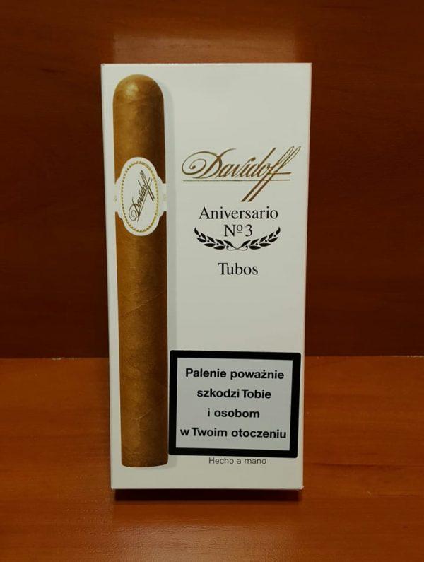 Cigar Davidoff Aniversario No3 Tubos