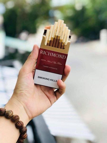 Thuốc lá Richmond vị cafe