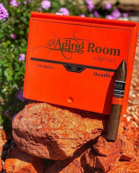 Aging Room Quattro Nicaragua Maestro top 1 xì gà năm 2019