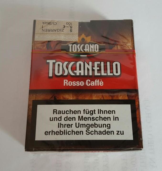 Cigar italia Toscanello Giallo Vaniglia