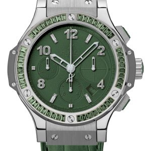 Big Bang Tutti Frutti Mat Green Dial Automatic Ladies Watch 41mm