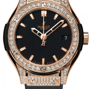 Classic Fusion Quartz Gold Ladies Watch 33mm