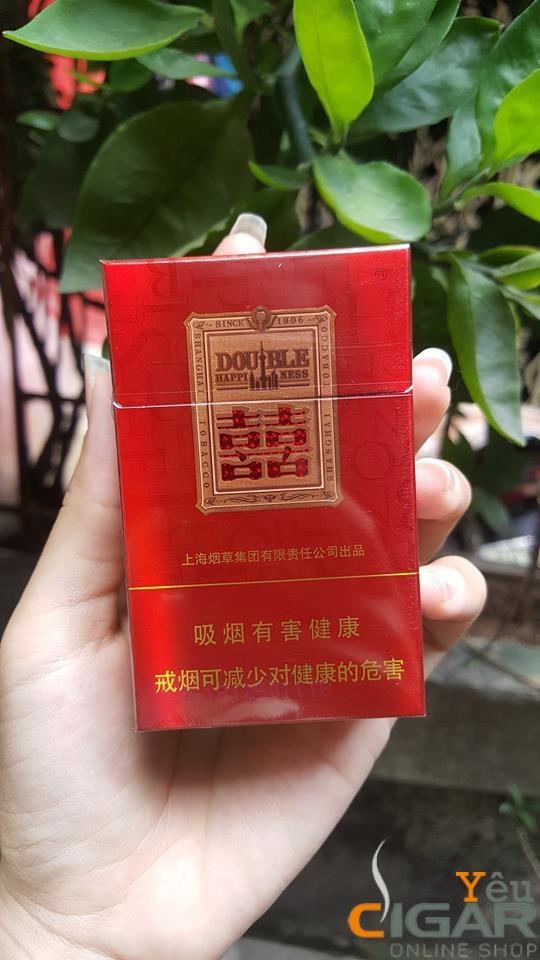 Thuốc lá Trung Hoa Song Hỷ